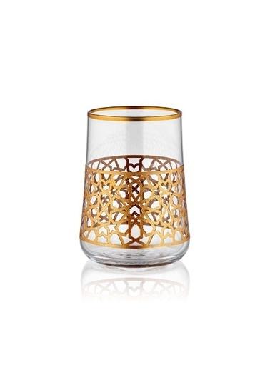 Koleksiyon Aheste Kahve Bardağı 6 Lı Yıldız Altın Premıum Renkli